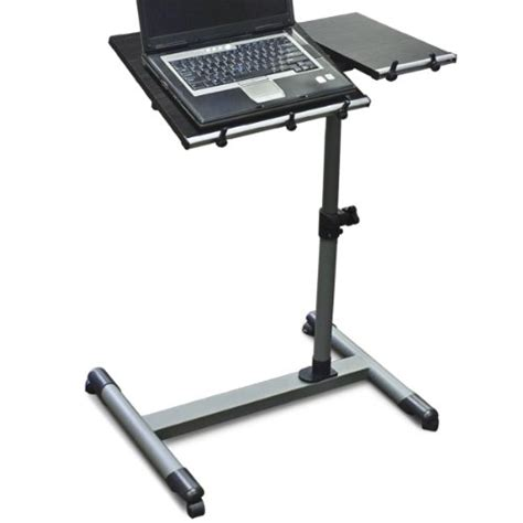 Adjustable Rolling Laptop Desk Wood Adjustable Rolling Computer Laptop Desk Computer Desk Educational Desk 29 95