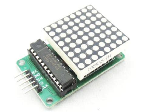 Modul Led Matrix 8x8 By Ecadio arduino 8x8 led matrix tutorial with circuit diagram code