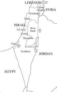 Free Outline Map Of Israel by Blank Israel Map