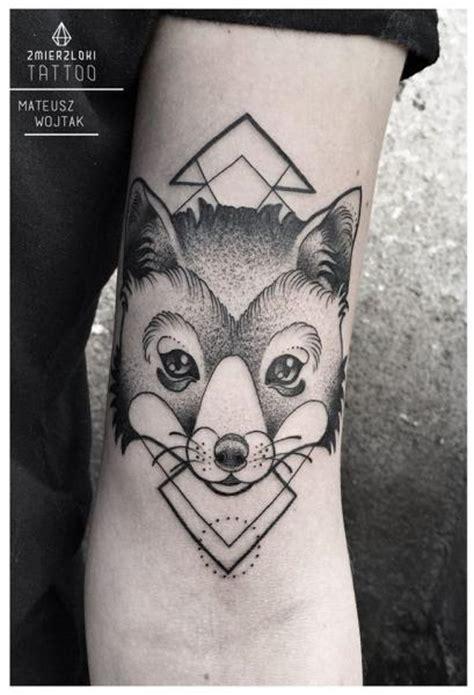 tatuagem bra 231 o dotwork raposa por zmierzloki tattoo