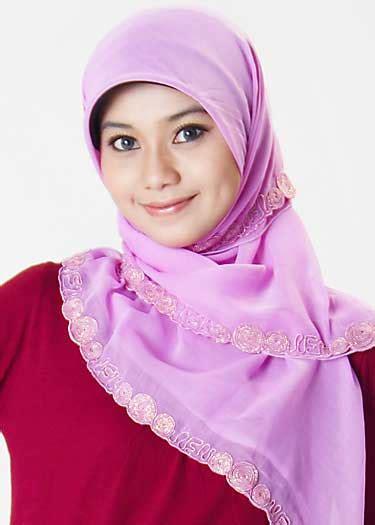 Murah Meriah Kerudung Segiempat Jilbab Segi Empat Motif 09 Jilbab Bordir