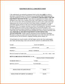 equipment lease contract template doc 460595 equipment lease agreement template