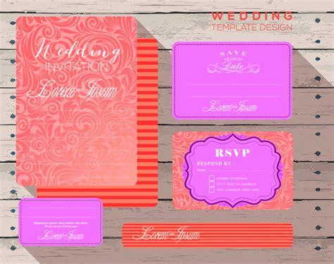 invitation card design ai file wedding design invitation card templates free vector in