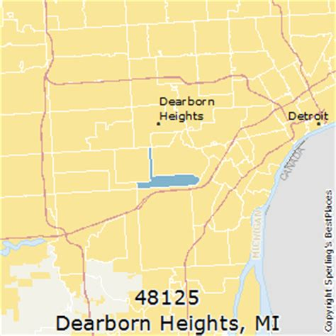 houses for rent in dearborn heights best places to live in dearborn heights zip 48125 michigan