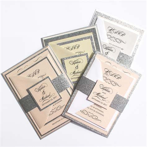 wedding invitation design houston image collections citrine designs launches new sparkling signature wedding