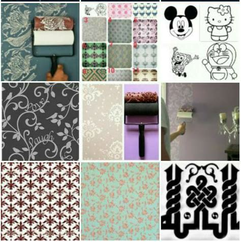 Roll Cat Motif Terlaris jual roll cat motif wallpaper roller paint all collection
