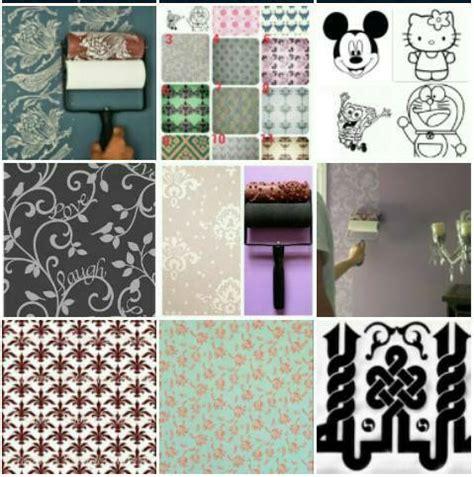 jual roll cat motif wallpaper roller paint all collection