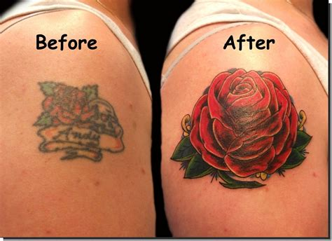 rose tattoo coverups cover up tattoos tattooshunt