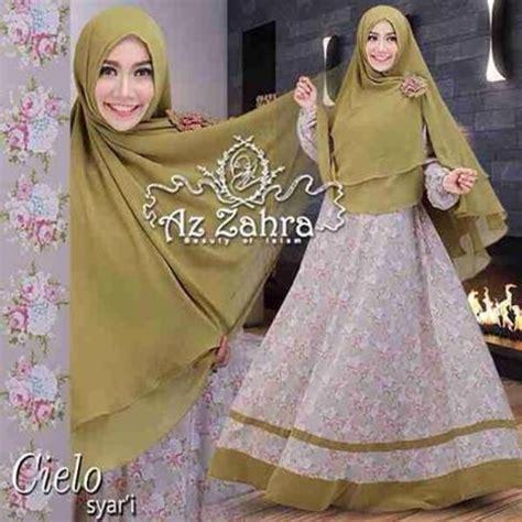 Gamis Syari Karinda Adem Busui Friendly baju busana muslim model gamis syar i cielo azzahra