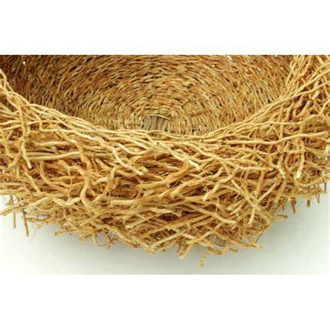Handmade Baskets - handmade basket from odorous vetiver roots size l passer