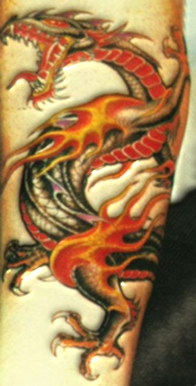 colored dragon tattoo designs design the best pictures
