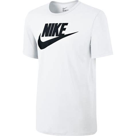 Nike Get T Shirt nike mens futura icon t shirt white black tennisnuts