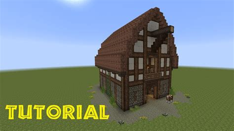 minecraft tutorial eine scheune bauen - Scheune In Minecraft