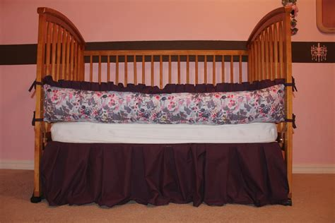 Crib Bedding Purple Baby Plum Purple Gray Crib Bedding Set By Aquabloom On Etsy