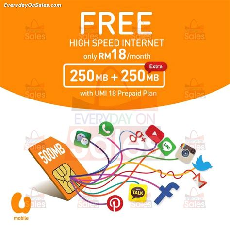 u mobile new year promotion u mobile free high speed promotion in malaysia