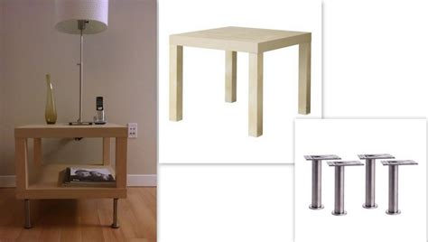 ikea side table hacks lack side table with capita legs ikea hackers ikea hackers