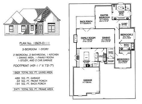 three bedroom house plans with garage modern house plans without garage