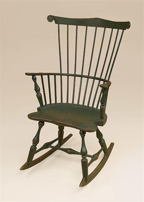 fan back windsor chair historical fan back rocking chair