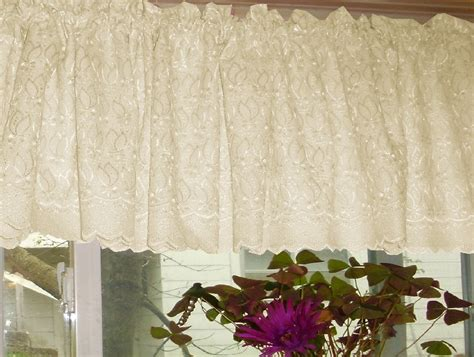 ivory lace curtains lace valences images frompo 1