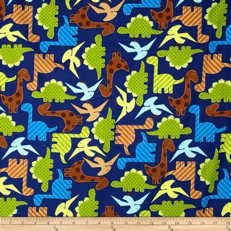 net zoology pattern kaufman urban zoologie dinosaurs navy discount designer