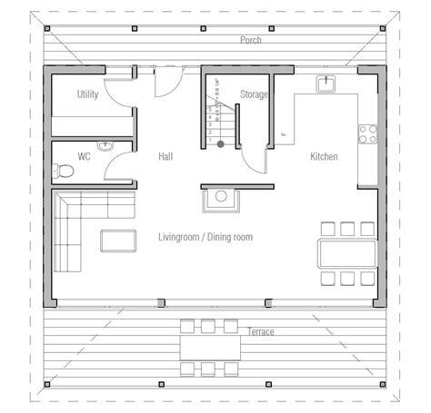 Small Open Concept House Plans by Small Open Concept House Plans Open Concept Kitchen House