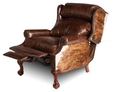 custom recliners wingback recliner hill country collection leather
