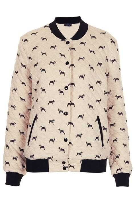 pattern recognition bomber jacket a beautiful bomber jacket with bostonterrier pattern from