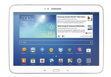android tablet 10 inch samsung galaxy tab 3 10 inch android tablet gadgetsin