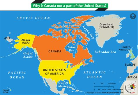 map of alaska canada and usa history and geography faqs and answers