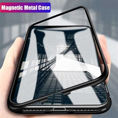 for iphone xs max xr 360 176 magnetic adsorption metal