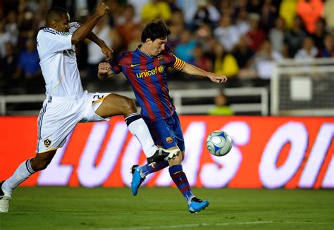 lionel messi fc barcelona biography lionel messi in fc barcelona v los angeles galaxy 1 of 5