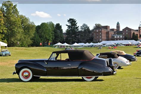 1940 lincoln continental 1940 lincoln continental at the glenmoor gathering of