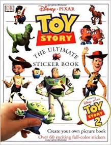 story 3 book story ultimate sticker book dk 9780789453433