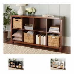 solid wood cube bookcase storage cubes solid wood 8 compartment organizer bookcase