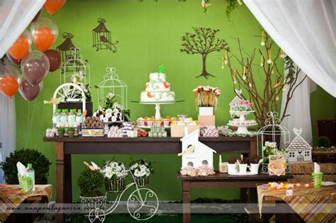 nature themed events nature bird themed little birdie party kara s party