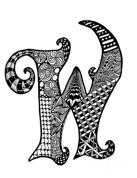 free printable zentangle letters 222 best images about zentangle letters on pinterest