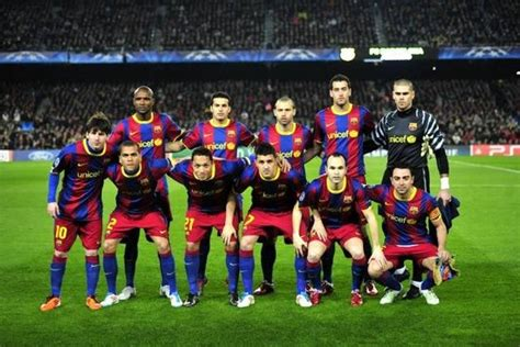 Squad Elreal podsumowanie sezonu 2010 2011 fc barcelona