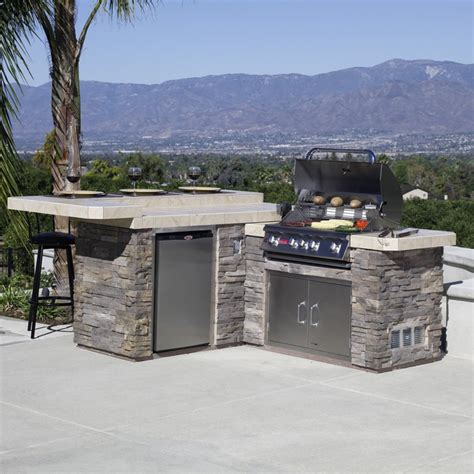 outdoor kitchen carts and islands bull outdoor kitchen bull jr gourmet q grill island outdoor kitchens at