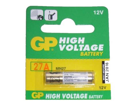 Battery Gp 27a by Gp Alkaline 27a 12v Battery Fab To Lab India