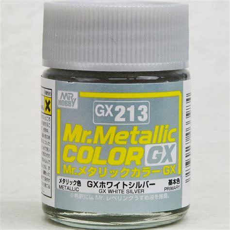 Sale Mr Color Gx 108 gsi creos gunze mr hobby color gx213 metallic white silver