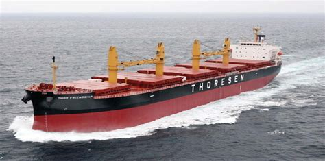 boat building career need to sell a bulk carrier thoresen plans to double