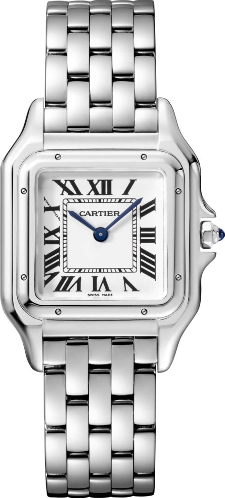 cartier 2 jarum transparant crwspn0007 panth 232 re de cartier medium model
