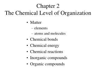 ppt chapter 2 chemical reactions section 1 observing