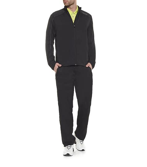 porsche design clothes uk lyst porsche design training suit in black for men