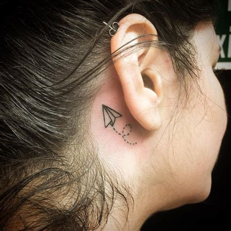 pen tattoo on ear 80 best behind the ear tattoo designs meanings nice