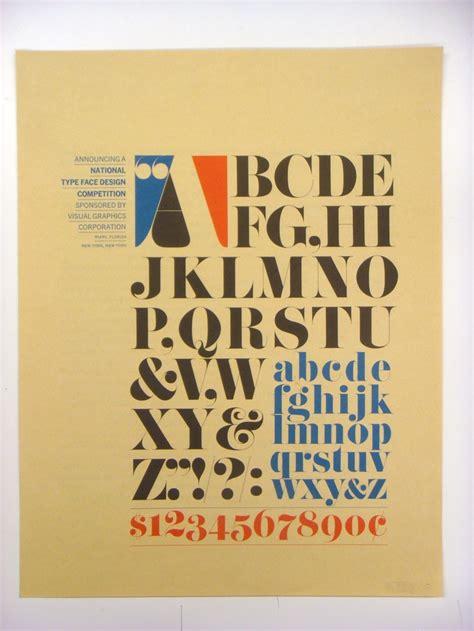 design competition announcement vgc typeface design competition announcement fonts in use