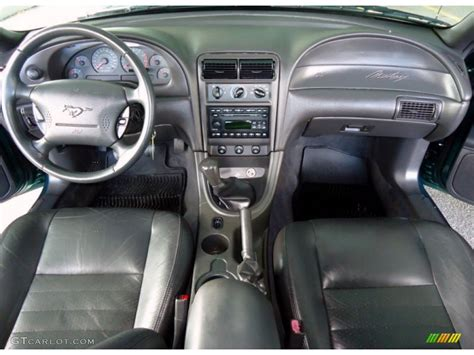 Mustang 2002 Interior by 2002 Tropic Green Metallic Ford Mustang Gt Coupe 77961355