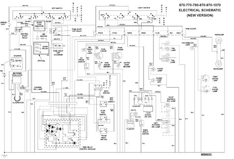 ignition switch wiring diagram throughout deere d130