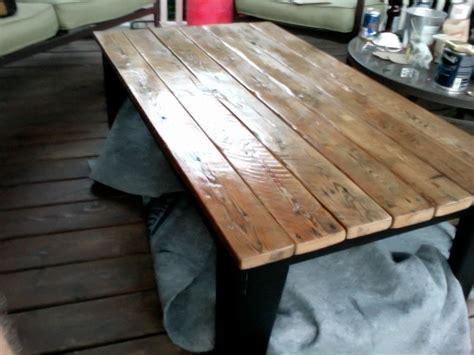 Barn Board Coffee Table Reclaimed Barn Board Coffee Table My Own Creations Pinterest