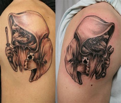 freaky tattoo designs garage by 2face on deviantart